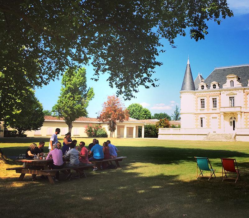 Déjeuner Champêtre au château